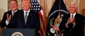 پیونگ یانگ باید سریعا به برنامه تسلیحات اتمی خاتمه دهد ، ترامپ به وزارت خارجه آمریکا رفت / پامپئو
