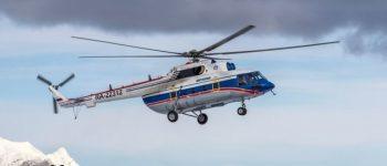 18 کشته در اتفاق سقوط بالگرد در سیبری